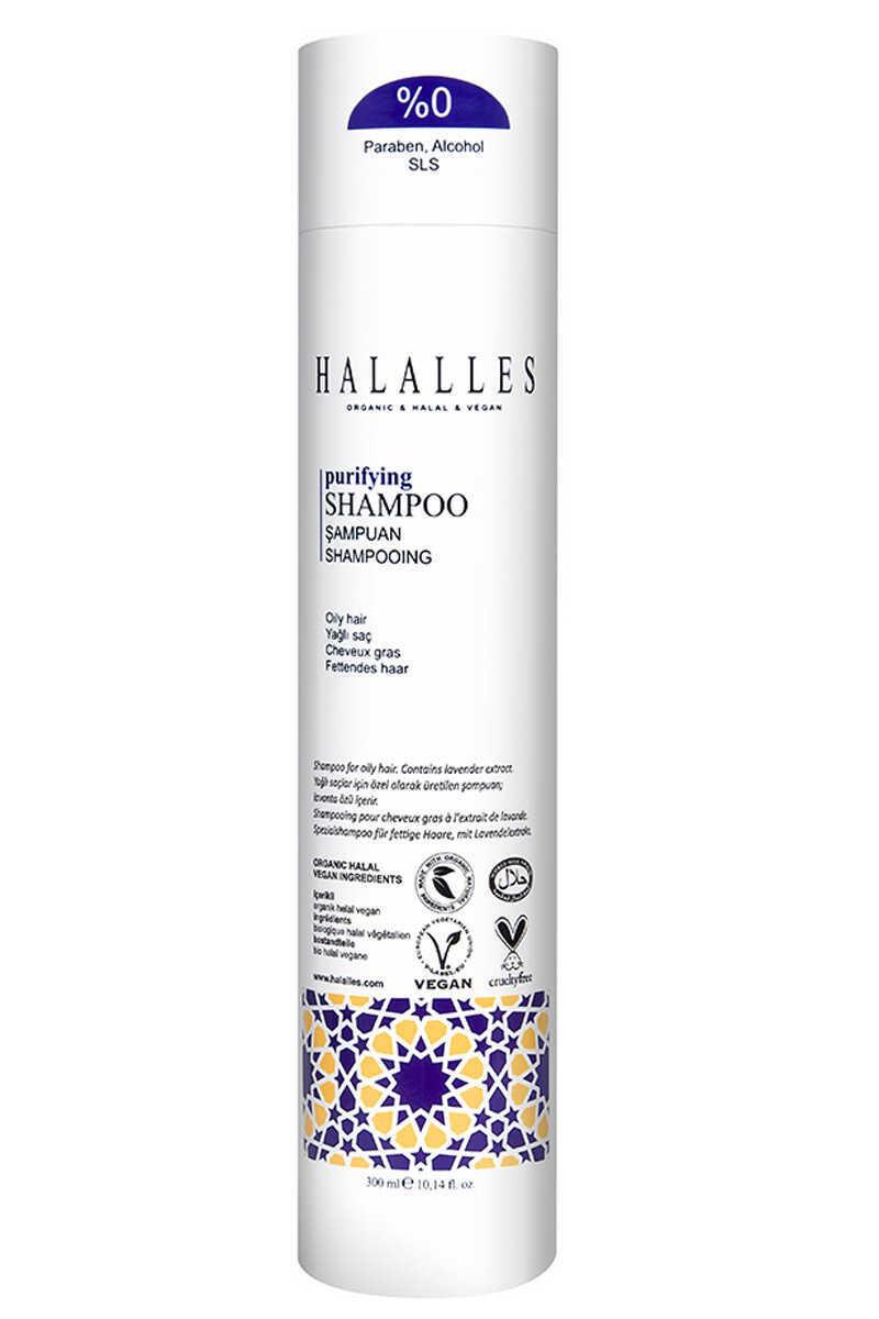 Halalles - Yağlı Saçlar İçin, Arındırıcı Şampuan