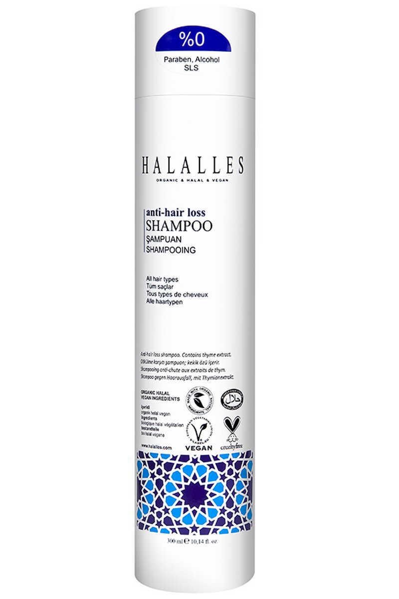 Halalles - İşlemsiz, Normal Yapılı, Saç Dökülmesine Karşı Şampuan